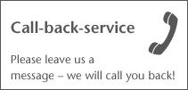 CallBack Service